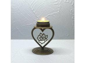 Candlestick Heart