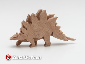 Dino Stegosaurus 3-layered-animal cnc/laser