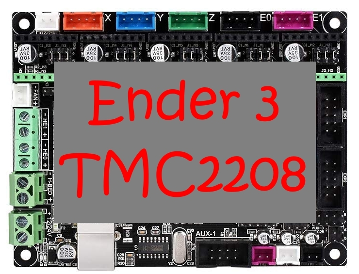 Ender 3 Umbau/Modification MKS Gen L + TMC 2208 by Papsi