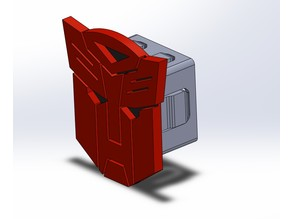 Trailer Hitch Cover (Autobot and blank version)