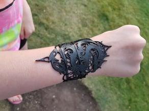 Gothic Dragon Bracelet