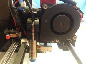 Anet A6 12mm Inductive Sensor And Fan Mount