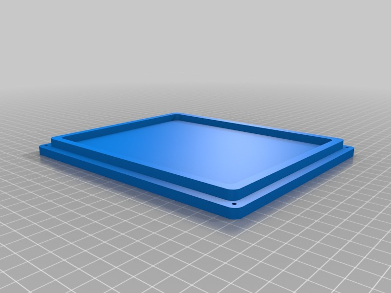 Adimlab 3D Printer LCD & PCB Control Box by jonbourg - Thingiverse