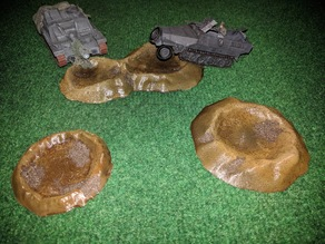 Craters for 28mm