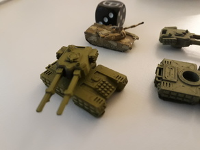 Mammoth Tank X-67 TUSK
