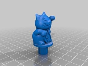 Lucky Cat Spinner for Monoprice Select Mini