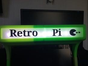 PiCade Light Frames - RetroPi - Pac Man