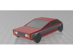 Low Poly Car 2