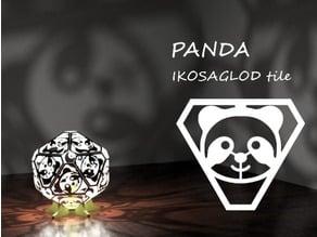 PANDA: Ikosaglod Lamp Tile