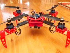 Quadrotor / Quadcopter airframe (small version)