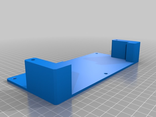 Lenovo USB-C dock holder by anhtuan445 - Thingiverse