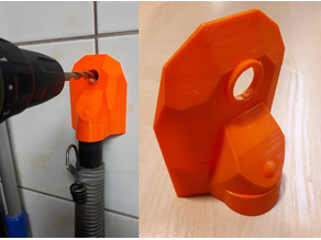 Drill Dust Collector (easy print)