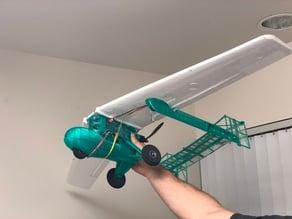 RC pusher plane Flight Test power-pack b