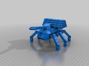 Worker Ant Walker for 28mm sci-fi wargames or sci-fi model making