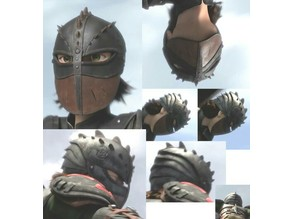 Hiccup Haddock III Helmet movie 2