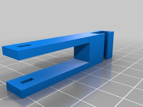 y axis endstop for microswitch