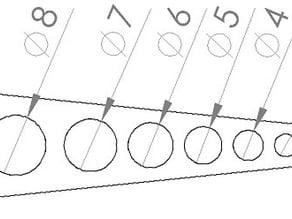 Calibration holes