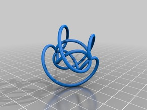 Spindle torus with three loops