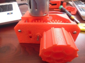 GearBox for Battlebot (sumobot)