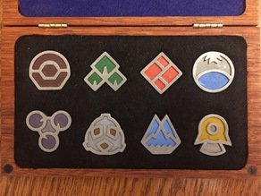 Sinnoh Pokemon Gym Badges