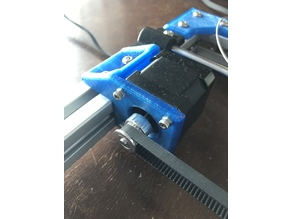 Y axis 3030 stepper motor bracket
