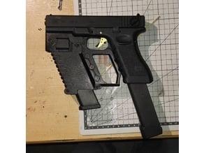 Glock G18 Front grip / Extra magazine addon (airsoft)