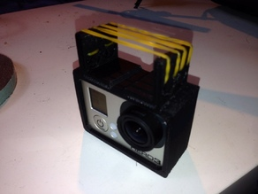 GoPro Hero 3 Ar Drone static mount