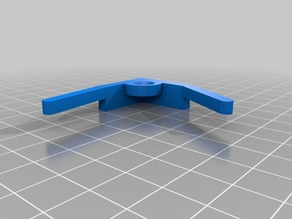 Corner bracket for glass bed Anet A8