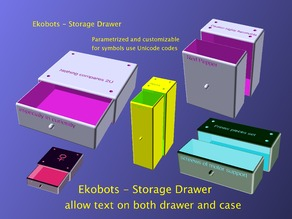 cC - Ekobots - Storage Drawer