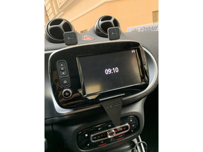 Smart car (ForTwo 453) iPhone XS holder