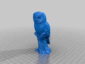 Owl Statue 3