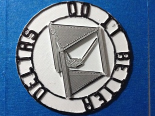 Delta Robot Badge