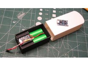 Dual 18650 Battery Holder