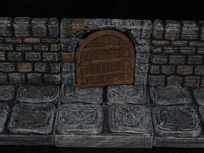 Openforge Stone Arch Doorway