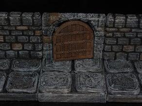 Openforge Stone Arch Doorway