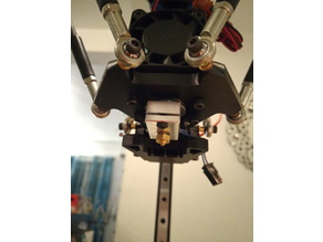 Anycubic Kossel E3D V6 MK3 based fan duct system