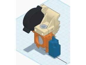 (Anet A8 E3D V6 Bowden) Cooler Bed Level Sensor Mount