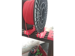 Spool/filament Holder - for zz809 bearings | Tevo Black Widow