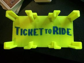 Dualstrusion Ticket To Ride 1910 Expansion Card Holder