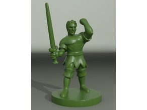 Folk Hero Miniature