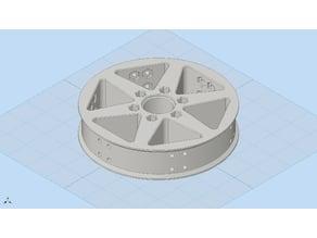 Lightweight 6in Diameter Traction Wheel