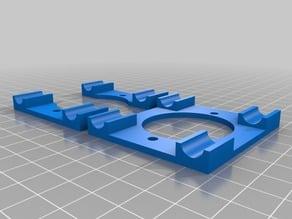 Mount for electronics side cooling fan for Sculptr Delta