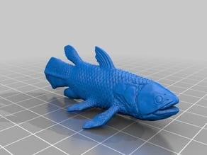 シーラカンス(Coelacanth)3Dデータ