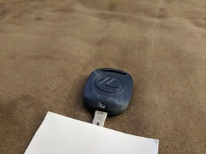 Lexus Key Shell
