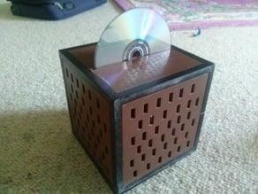 Minecraft Jukebox.  Working CD Player/Desktop DVDRW/Speaker Box