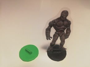 Simple Paper Miniature Base