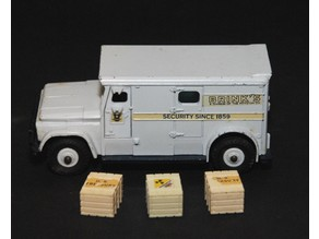 Dinky #275 Brinks Armoured Car Treasure Chest Replacement