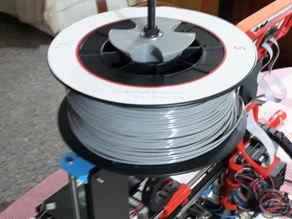 filament spool holder for prusa i3 hephestos or prusa rework