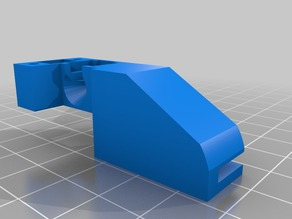 Adaptador Sensor Fliamento Extrusor Titan Alfawise U20