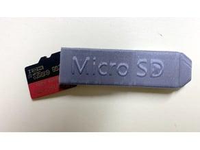 Micro SD card tool